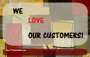 customer relationship and excellent customer service = customer retention