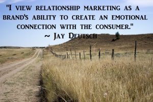 relationship marketing creates an emotional connection with the consumer